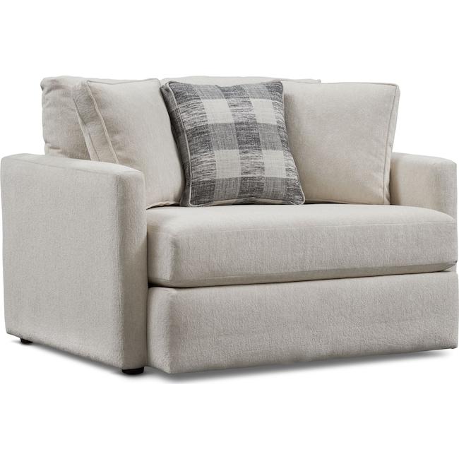 Living Room Furniture - Garrett Chair and a Half