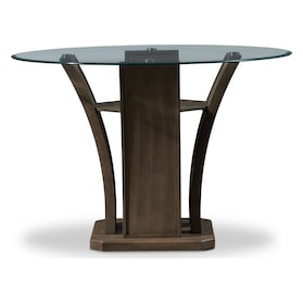 Gemini Counter-Height Dining Table and 4 Stools