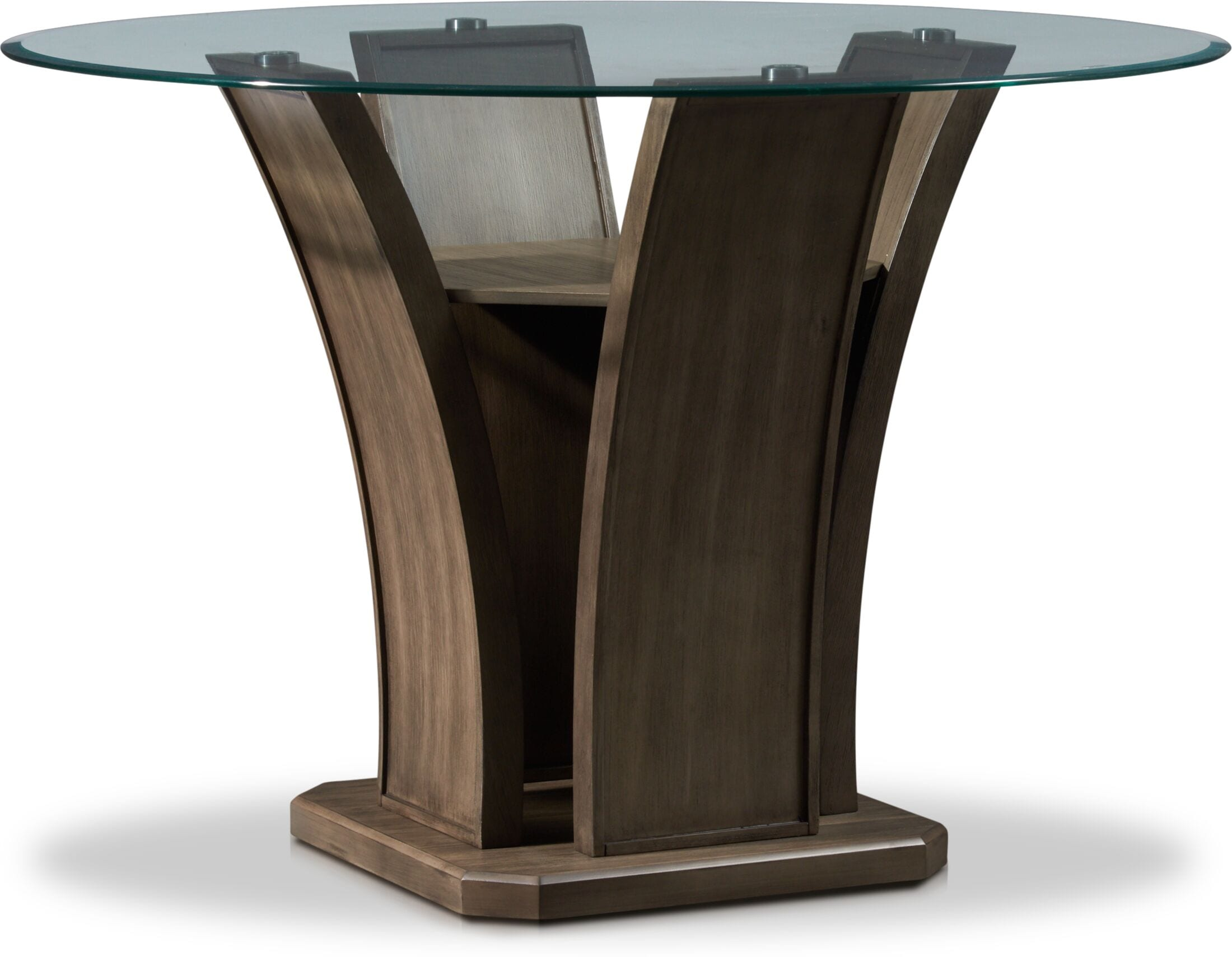 Dining Room Furniture - Gemini Counter-Height Dining Table