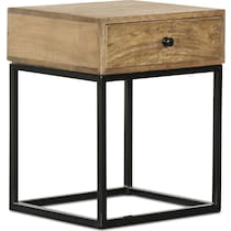 gerard light brown side table