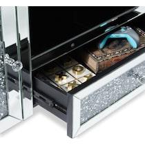 gigi silver tv stand