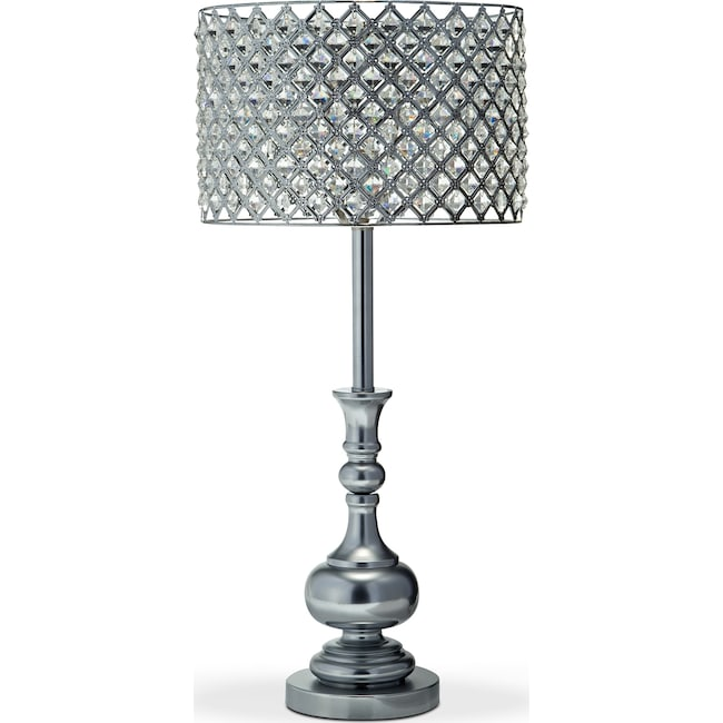 Home Accessories - Glass Acrylic Table Lamp