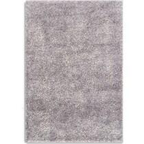 glitz gray area rug ' x '