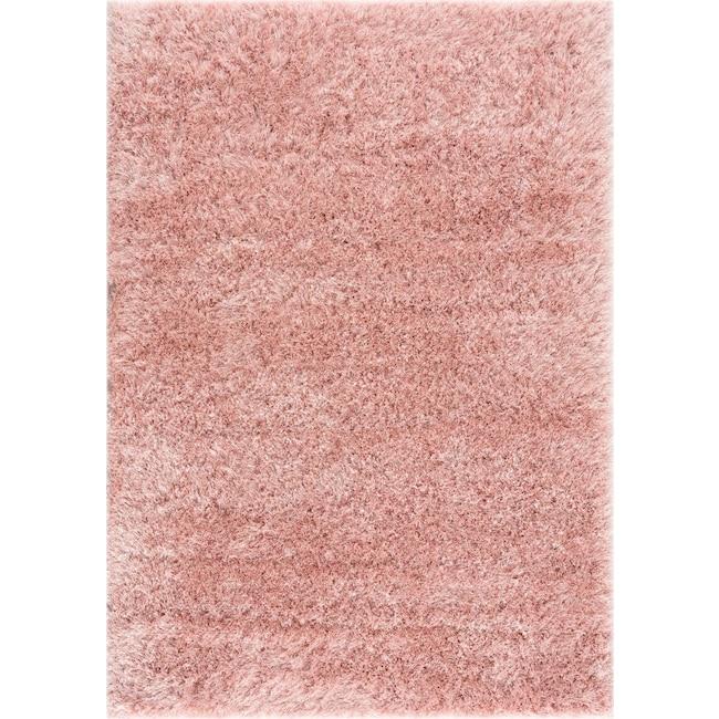 Rugs - Glitz Area Rug - Pink