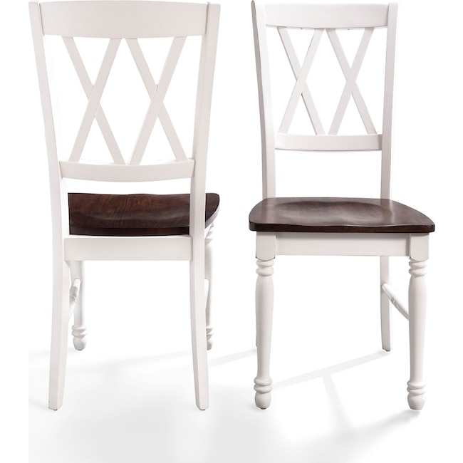 Dining Room Furniture - Gracie Set of 2 Dining Chairs