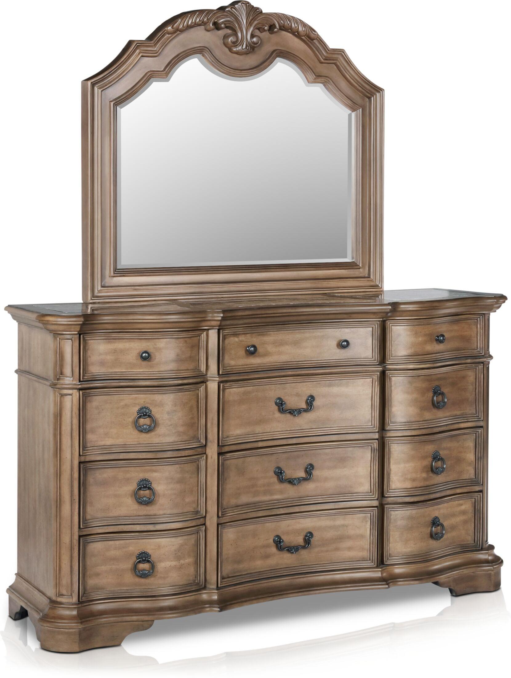 Bedroom Furniture - Gramercy Park Dresser and Mirror