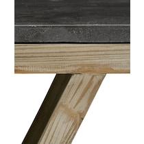 grandin light brown end table