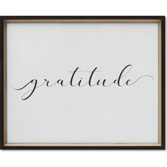 Home Accessories - Gratitude Wall Art