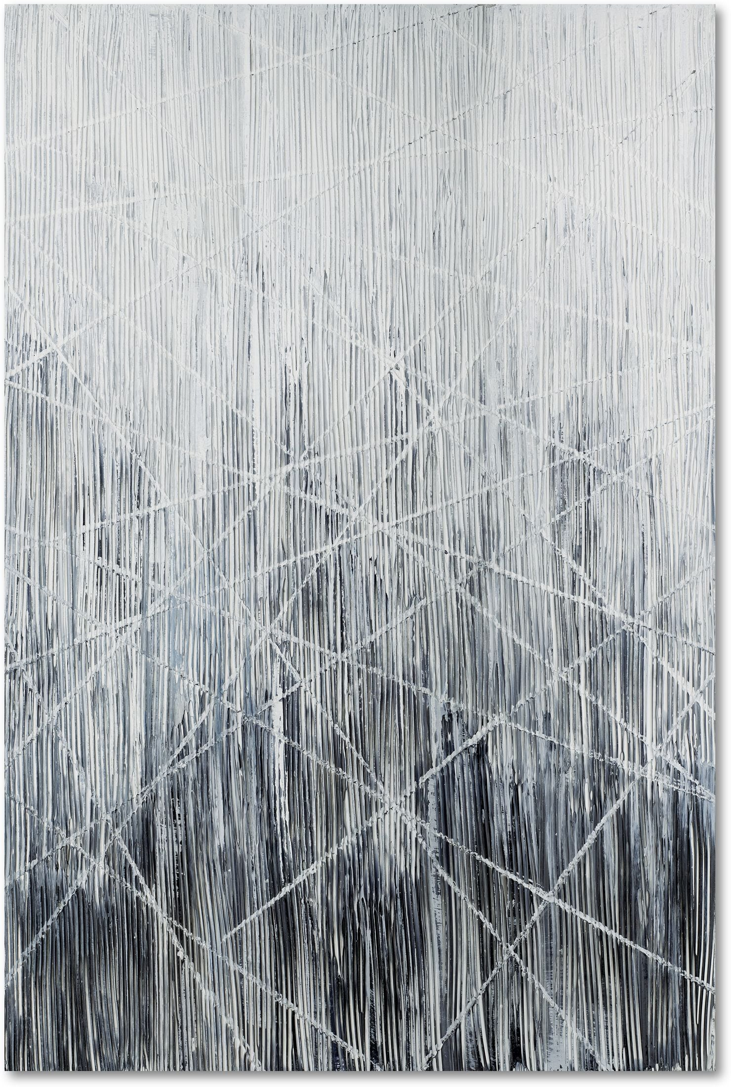 Home Accessories - Gray Web Wall Art