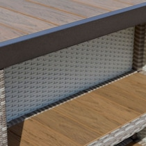 gulfport light brown outdoor bar set