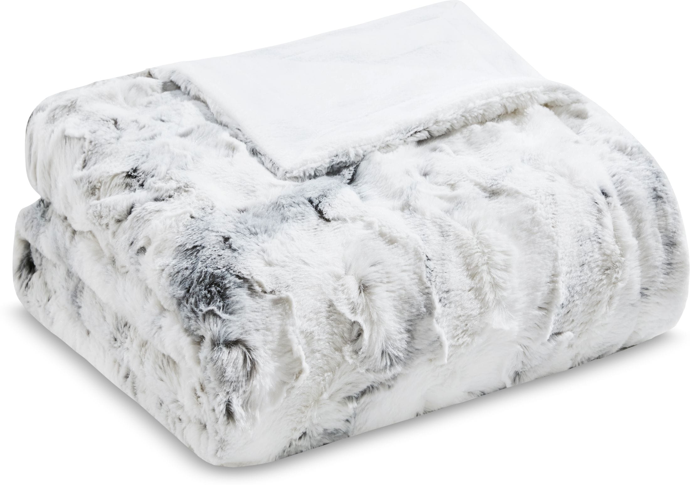 Accent and Occasional Furniture - Hadley Faux Fur Throw