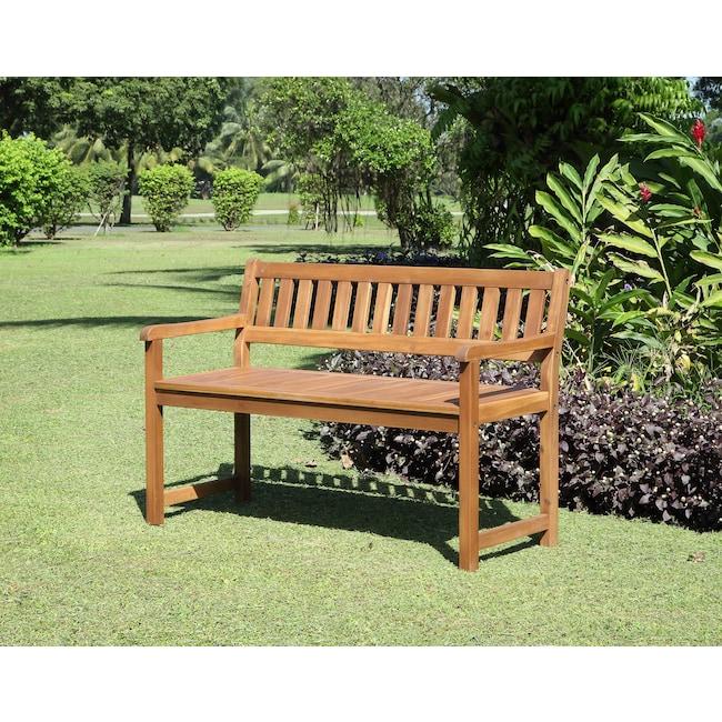 Outdoor Furniture - Hampton Beach Outdoor Bench - Teak