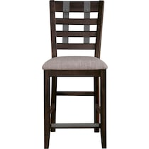 hampton counter height dining dark brown counter height stool