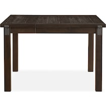 hampton counter height dining dark brown counter height table
