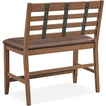 hampton counter height dining light brown counter height bench