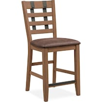 hampton counter height dining light brown counter height stool