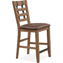 hampton counter height dining light brown counter height stool