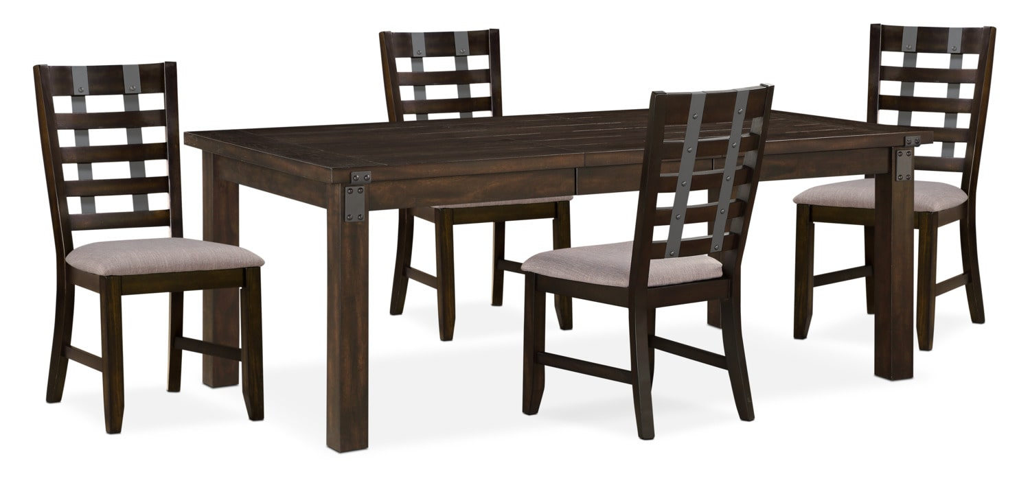 Dining Room Furniture - Hampton Dining Table and 4 Side Chairs