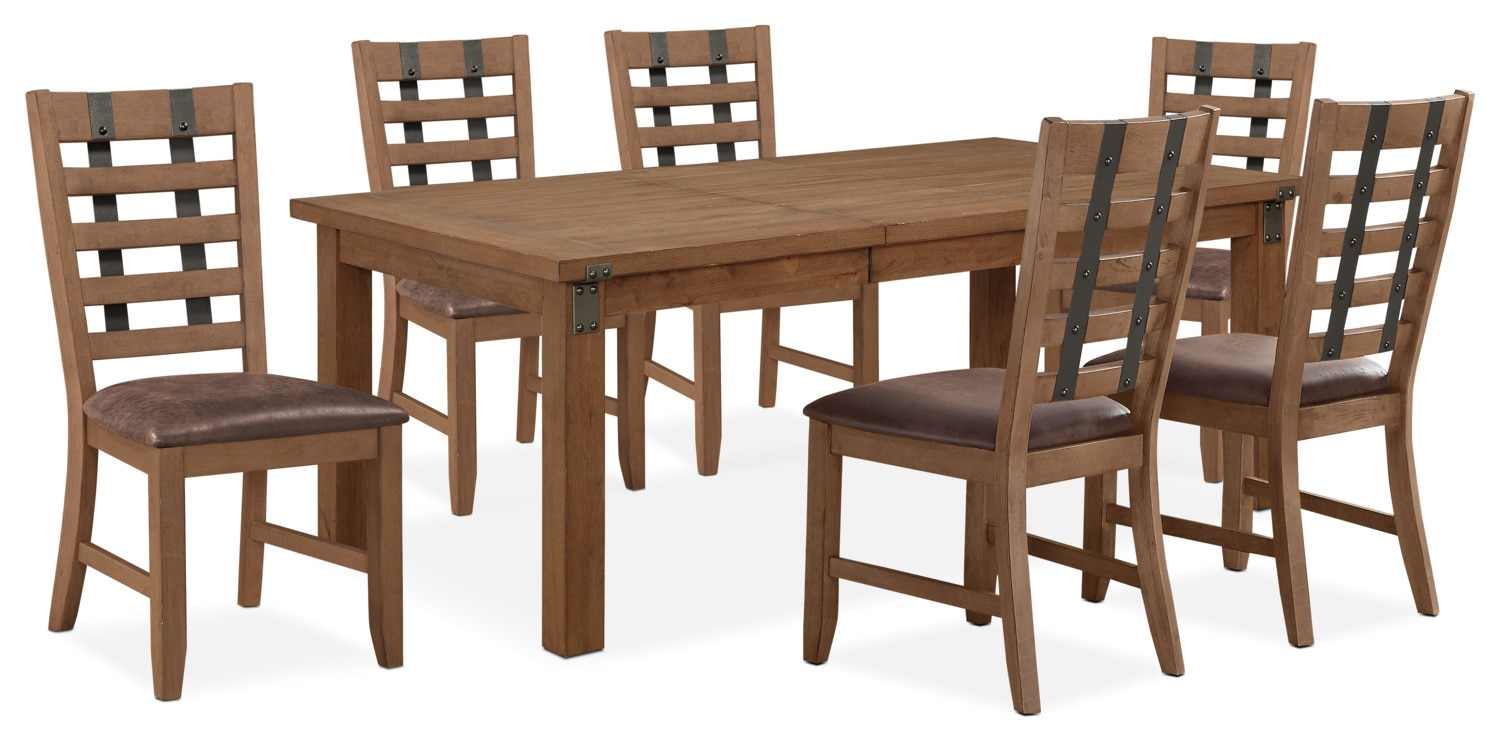 Dining Room Furniture - Hampton Dining Table and 6 Side Chairs