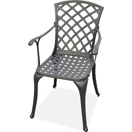 Hana Outdoor High-Back Arm Chair
