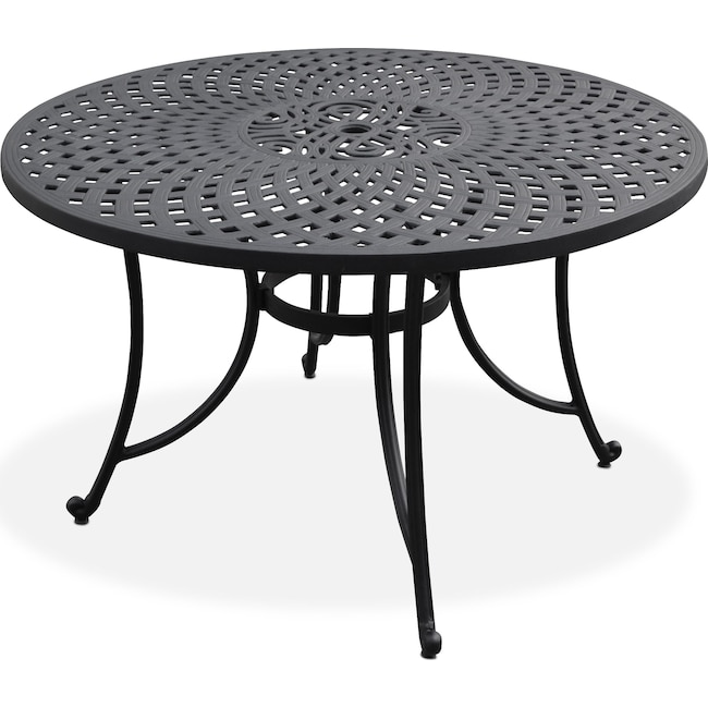 "Outdoor Furniture - Hana Outdoor 46"" Dining Table"