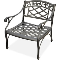 hana outdoor black outdoor chair