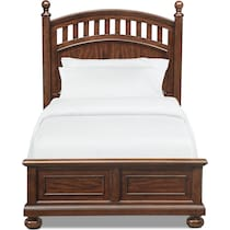hanover youth cherry dark brown full bed