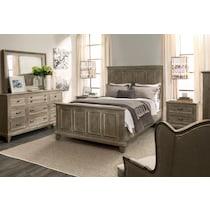 harrison gray dresser & mirror