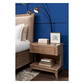 Hazel 1-Drawer Nightstand