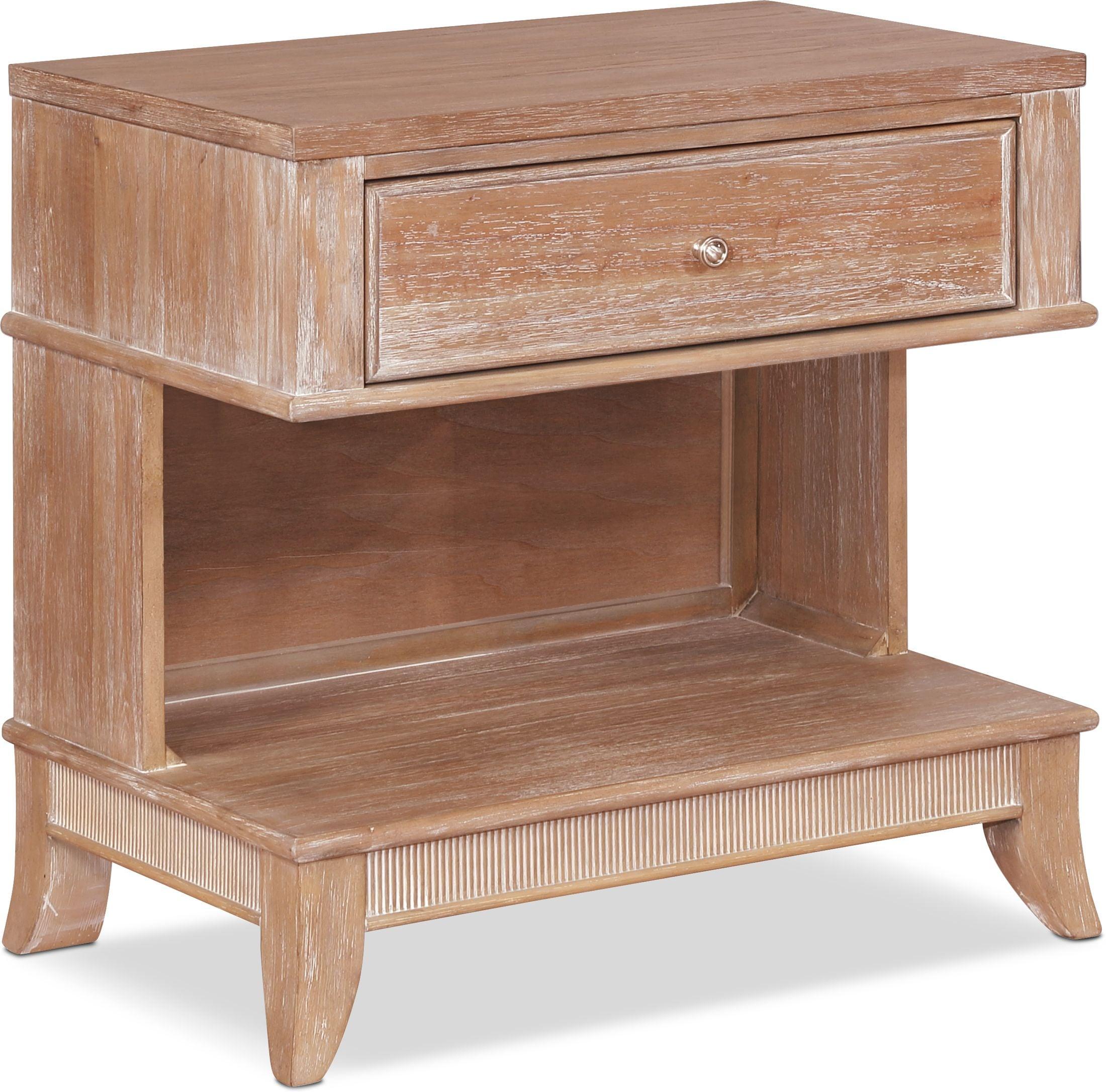 Bedroom Furniture - Hazel 1-Drawer Nightstand