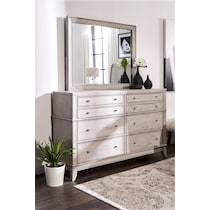 hazel white  pc king storage bedroom