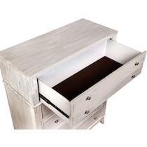 hazel white chest