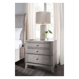 Hazel 2-Drawer Nightstand