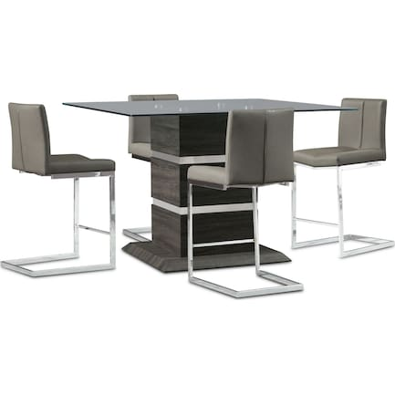 Henderson Counter-Height Dining Table and 4 Stools