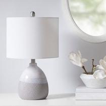 hermosa gray table lamp