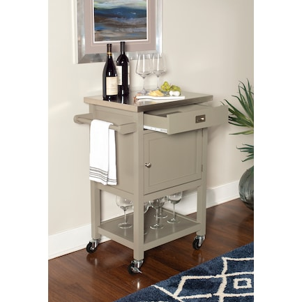 Highland Apartment Cart - Gray