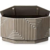 hollis gray coffee table