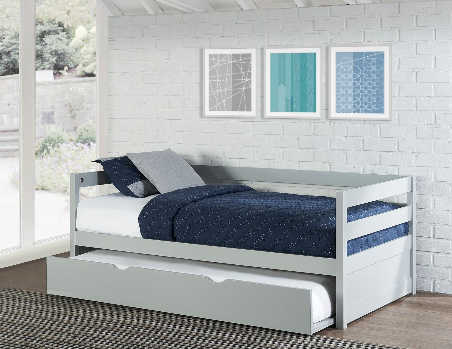 - Hudson Trundle Daybed American Signature Furniture