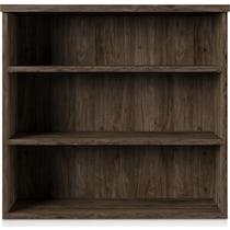 hunter dark brown bookcase