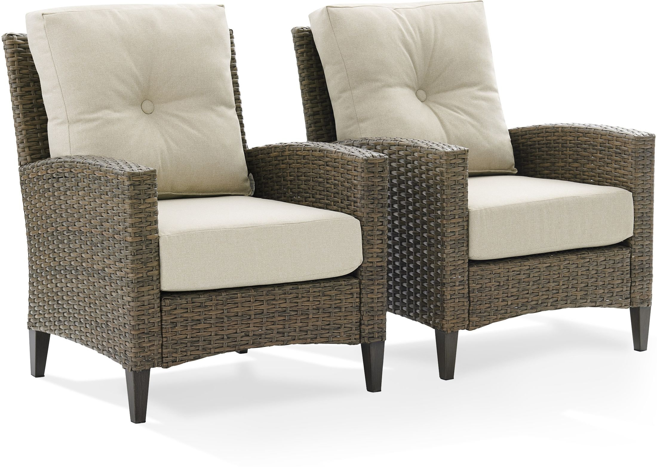 Outdoor Furniture - Huron Set of 2 Outdoor Chairs