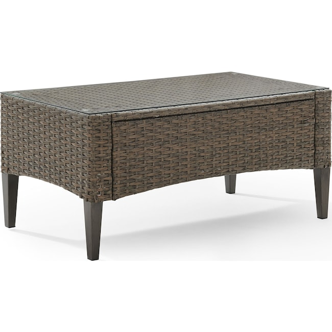 Outdoor Furniture - Huron Outdoor Coffee Table