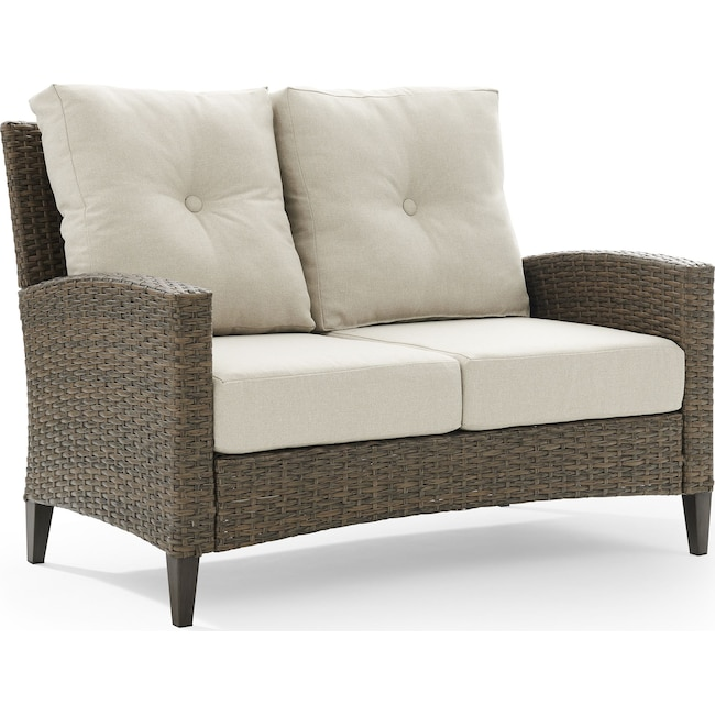 Outdoor Furniture - Huron Outdoor Loveseat