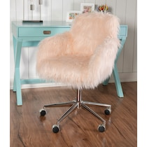 iona pink office chair