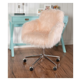 Iona Faux Fur Office Chair