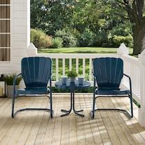 jack blue outdoor chair set