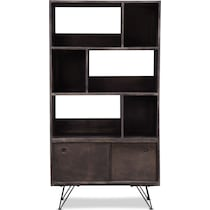 jack dark brown bookcase