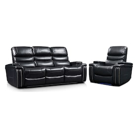 Jackson Triple-Power Reclining Sofa and Recliner Set