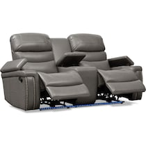 jackson gray  pc manual reclining living room