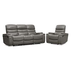 Jackson Manual Reclining Sofa and Recliner Set