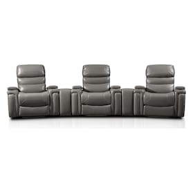 Jackson 5-Piece Triple-Power Reclining Home Theater Sectional